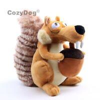 Ice Age Scrat Plush Toy Funny Cute Squirrel Stuffed Animal 8'' Doll Cuddly Gift