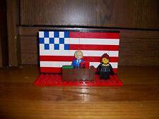Lego Set - PRESIDENT DONALD TRUMP - MELANIA TRUMP - WHITE HOUSE - CUSTOM