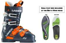 Lange RX120 MV ski boots size 28.5 (incl FOOTBED at Buy It NOW price) NEW 2019