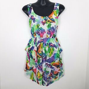 Paradisco Size 6 Women's Floral Colourful Sleeveless Summer Playsuit