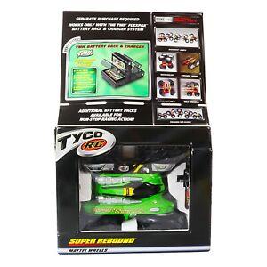 Vintage 90s Tyco Super Rebound R/C Radio Control Vehicle Green Mattel Wheels NIB