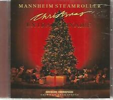 MANNHEIM STEAMROLLER - Christmas Extraordinaire - CD - Like New - 12 Christmas!