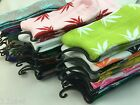 New Marijuana Long Cotton Sport Weed Leaf Socks Ankle Sock Crew Colors optional