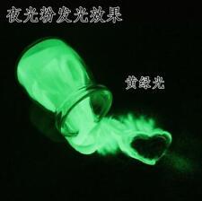 25KG yellowgreen glow in the dark photoluminescent luminous pigment powder sand