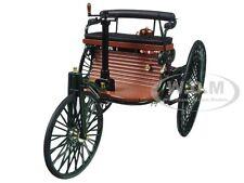 1886 BENZ PATENT MOTORWAGEN 1/18 DIECAST MODEL CAR BY NOREV 183701