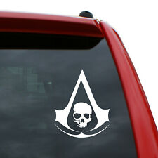 """Assassin's Creed - Black Flag Logo Vinyl Decal 