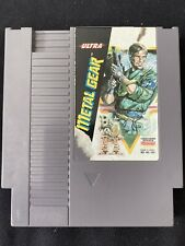 Metal Gear (Nintendo Entertainment System, 1988), Nes, Authentic, Tested!