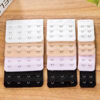 3 Pcs Ladies Bra Extender Bra Extension Strapless Underwear Strap 2, 3, 4, Hooks