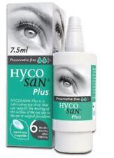 Hycosan Plus + sans Conservateur Lubrifiant Gouttes Yeux 7.5ml