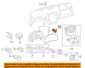 89611-30022 Toyota Switch, push start 8961130022, New Genuine OEM Part