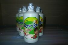 New! BYEBAC baby feeding bottle cleaner 500ml no residue avent pigeon medela