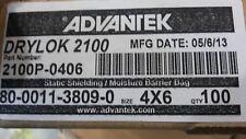 "DRI-SHIELD 3000 DRYLOK 2100 STATIC SHIELDING MOISTURE BARRIER BAG 4""x6"" 100 PK"