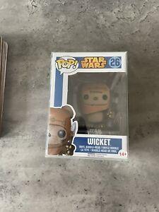 Star Wars Wicket Blue Box Funko Pop #26