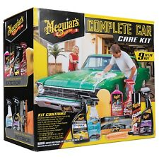 Meguiar's® Complete Car Care Kit – Premium Detailing Kit - G55161