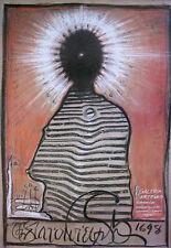 Original Polish Poster  - Galeria Artemis - Starowieyski