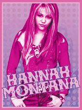 Disney Hannah Montana 133x200 54x80 lizenziert Vorleger Matte rutschfest Teppich NEU