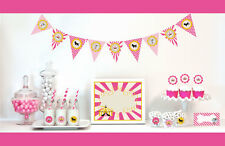 Pink Circus Birthday Party Baby Shower Decorations Starter Kit