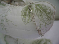 ANTIQUE VINTAGE STERLING SILVER CHAIN BRACELET to FIT DOLL OR BEAR 13 CM LONG