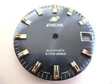 ENICAR 1145 NEW STAR JEWEL BLUE COLOURED DIAL 28.85MM DIAMETER