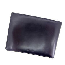 Prada Wallet Purse Bifold Black Woman Authentic Used Y397