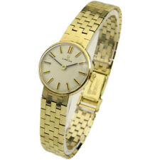 OMEGA LADIES 9CT GOLD VINTAGE HAND-WIND MECHANICAL WRISTWATCH DATING CIRCA 1964