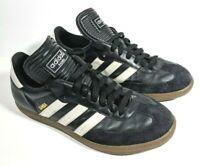 2008 Adidas Samba Classic Mens 7.5 Boys Black White Indoor Soccer Shoes, 034583