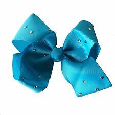 Hair Bows Accessories Clip Ladies Fashion Crystals Diamante Decoration Jewel UK