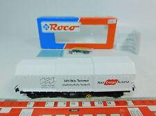 AU682-0,5# Roco H0/DC 46303 Hooded-cover freight cars Voest-Alpine ÖBB NEM, NIP