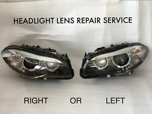 BMW F10 5 Series HID Xenon Headlight Repair Service Left or Right 2014 2015 2016
