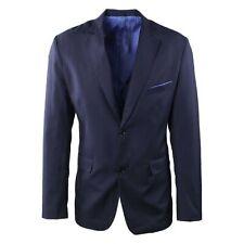 Giacca Uomo Elegante Blu Sartoriale Blazer Slim Fit Classica Cerimonia