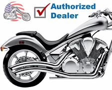 Cobra Chrome Speedster Swept Exhaust Pipes 2010-2018 Honda Fury Stateline Sabre