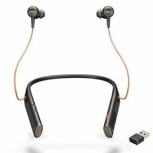 Plantronics Voyager 6200 UC Stereo Wireless Headphones 208748-101
