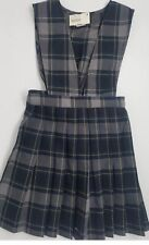 Plaid Jumper Girls School Uniform