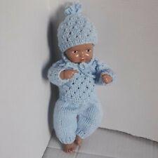Puppenkleidung - 3 teiliges Set für Babypuppe 25 cm