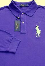Polo Ralph Lauren Short Sleeve Blue Striped Cotton Oxford Shirt / Big 2x