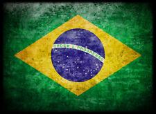 50ct Max Protection Standard Shuffle-Tech Sleeves BRAZIL Flag BRASIL Auriverde