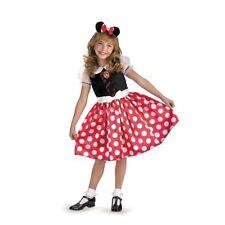 Disney Child MINNIE MOUSE Red & White Polka Dot Costume