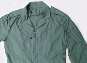 Flight Suit Overalls / RAF Aircrew Coveralls MK17B (Sage / Green) Grde 2 Size 7
