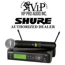 Shure SLX24/SM58-G5 Handheld Wireless Microphone System w/ SM58 MIC