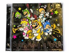 Nintendo Super Mario 3D World Original Soundtrack CD NEU!