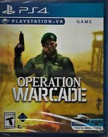 Operation Warcade VR (Sony Playstation 4, 2018) PS4 PSVR Brand New Sealed