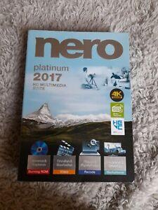 Nero Platinum 4k 2017 HD Multimedia Suite for windows