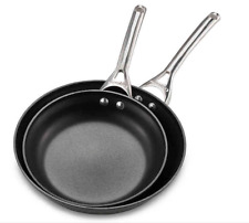 Calphalon® Contemporary Nonstick 10-Inch and 12-Inch Fry Pan Set -NEW -Free Ship
