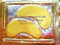 24k Gold Powder Collagen Eye Mask Anti Wrinkle Ageing Bags Moisturiser UK