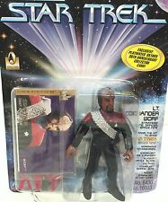 LT. COMMANDER WORF ~ Star Trek Deep Space Nine ~ Playmates 1996 ~  MOC