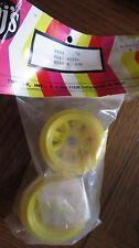 Associated RC10 Tamiya Fox Rear Yellow Wheels  9804  Twinn-k Vintage