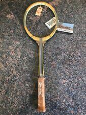 New listing Rare Vintage Antique NOS SPALDING LA VITESSE Wood Tennis Racket Racquet NEW