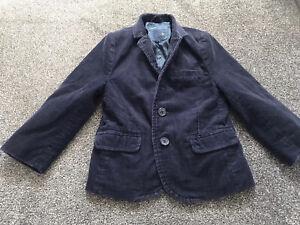 Boys Blue Next Cord Blazer/Jacket Age 5 Years