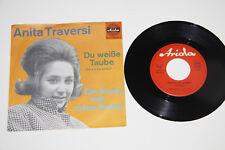 """Anita Traversi-Tu L BIANCHI piccione 7"""" single vinile GER 45420 RARE NM"""