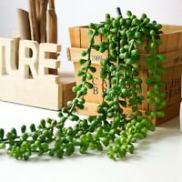 72CM Natural Garland Hanging Artificial Fake Plants String Succulents Home Decor
